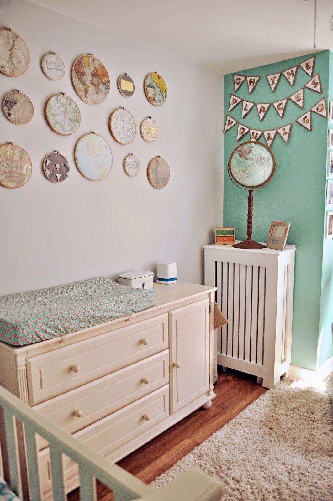 Baby Boy Room Themes Travel: Gender Neutral Nursery Travel Themed Nursery Hot Air