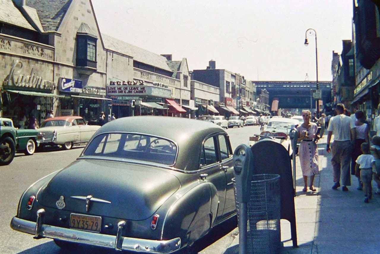 1955 Photo Of 82nd Street In Jackson Heights Route22ny