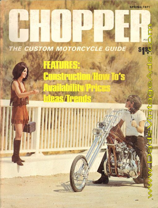 1971 Spring Chopper The Custom Motorcycle Guide With Images