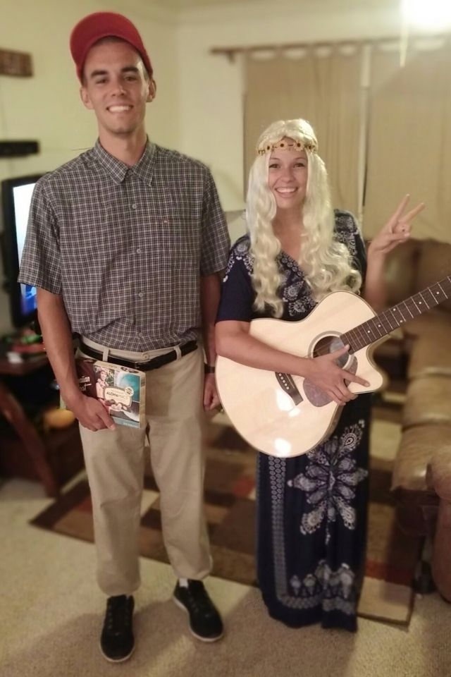 Couples Halloween Costume Theme // Forest Gump