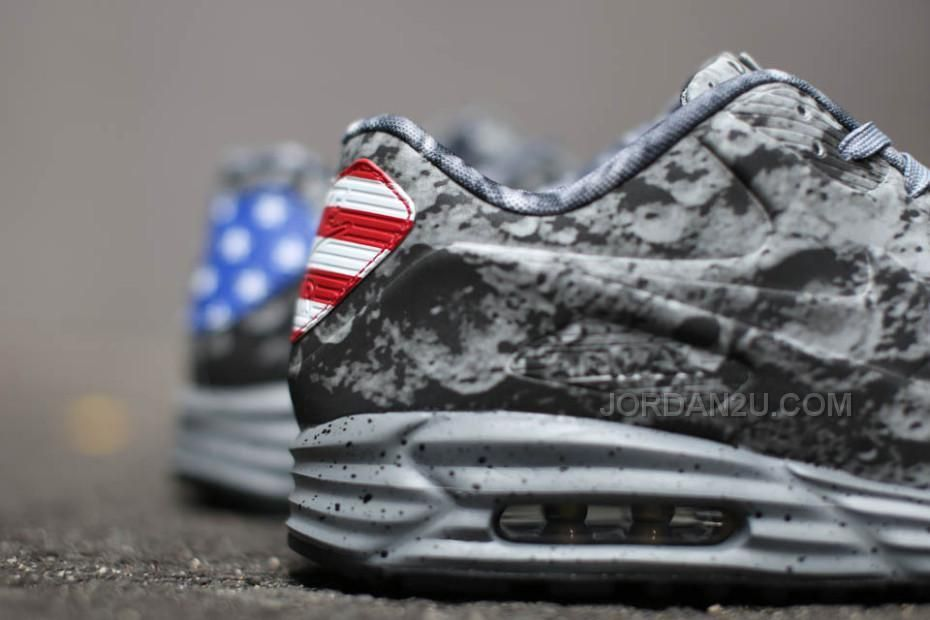quality design 6b1f7 2a9be Nike Air Max 90 Lunar SP Moon Landing Apollo 11 Mens Shoes Neil Armstrong  Gray American