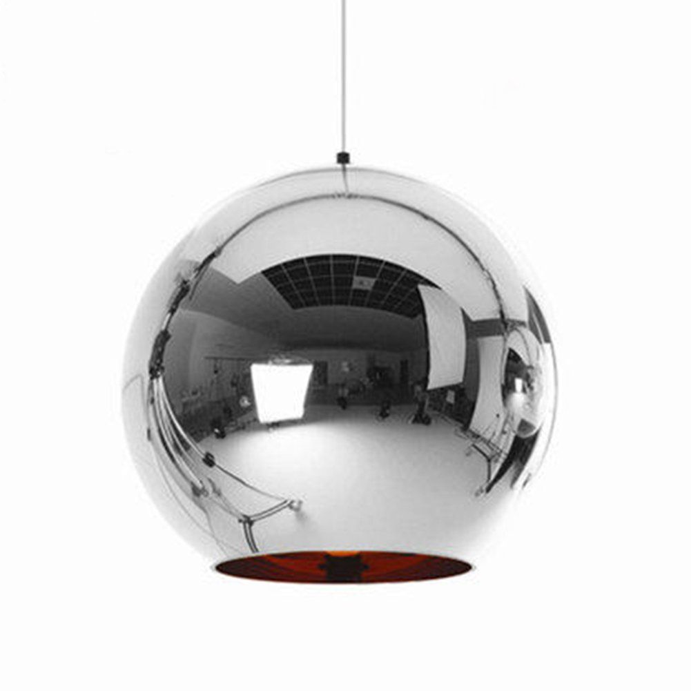 Sophilab Tom Dixon Modern Silver Glass Globe Pendant Hanging Lights Nordic Glass Ball Lamp Glass Ball Pendant Lighting Ball Pendant Lighting Glass Pendant Lamp