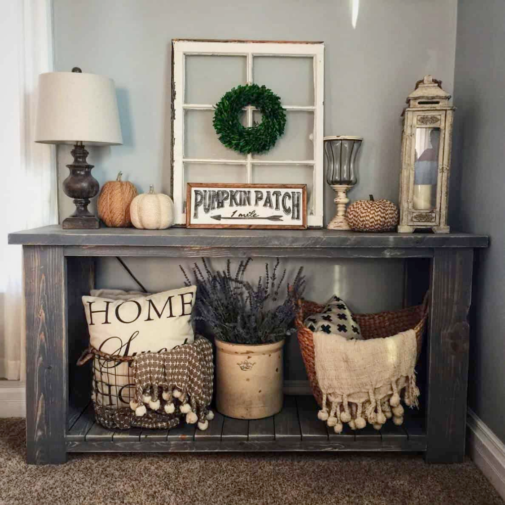 Photo of 23 Amazing Ways To Style Your Console Table With Fall Decor