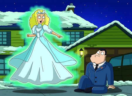 American Dad! S2E9: The Best Christmas Story Never Told (2006 ...