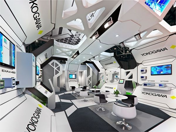 84 On Behance Futuristic Interior Spaceship Interior