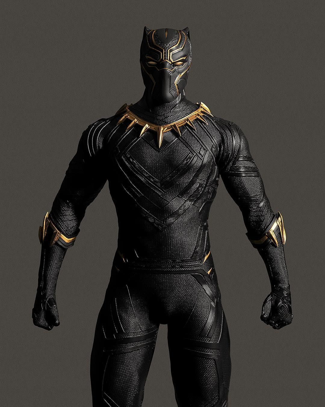 Modified Action Figure Makes The Black Panther Suit Look Even Better Black Panther Costume Black Panther Marvel Black Panther Images