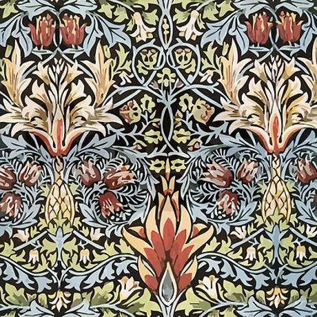 I Could Definitely Look At This Every Day William Morris Shower