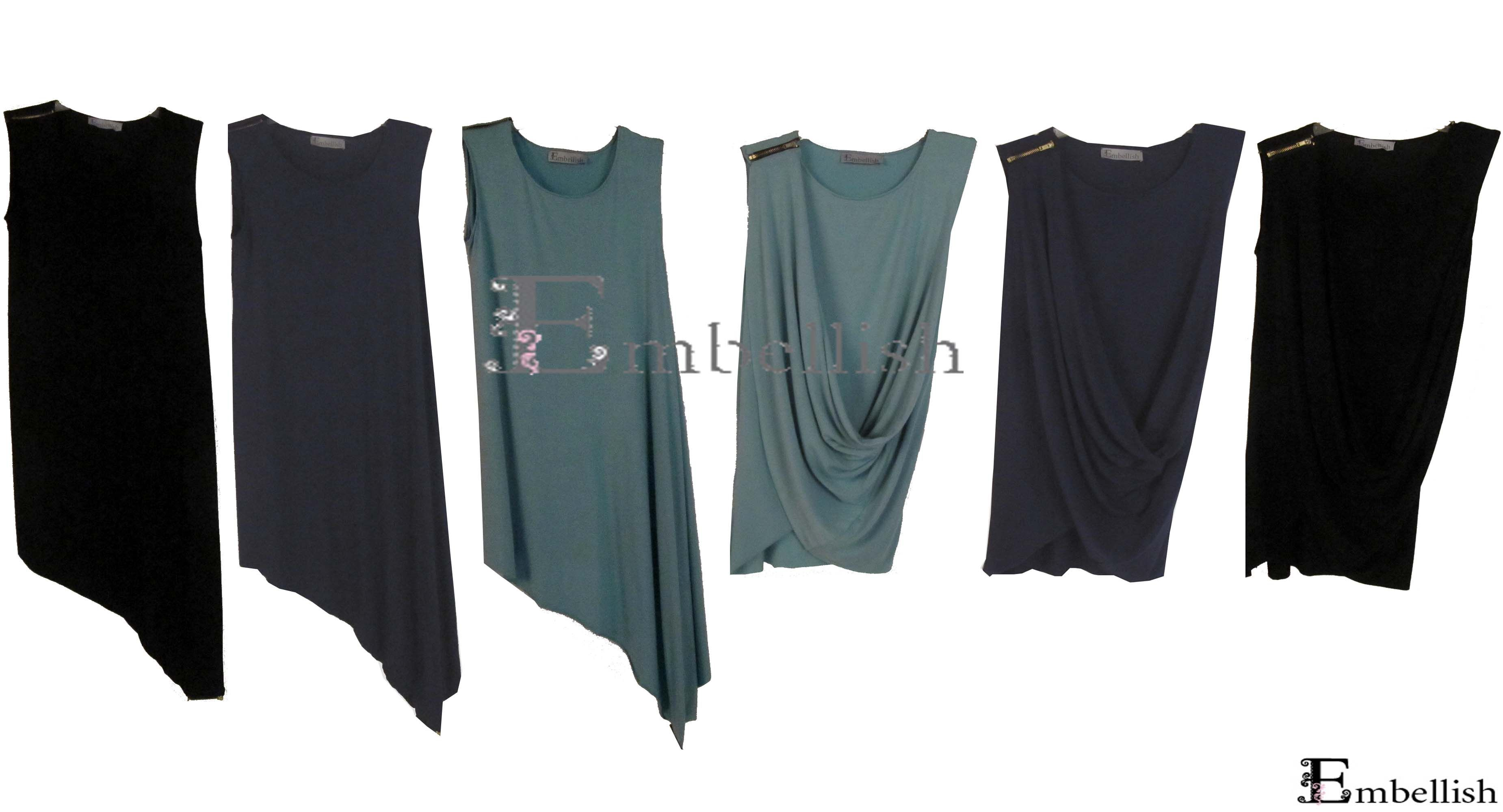 Php980 Bayo Dress/Blouse (Mint, Navy and Black)