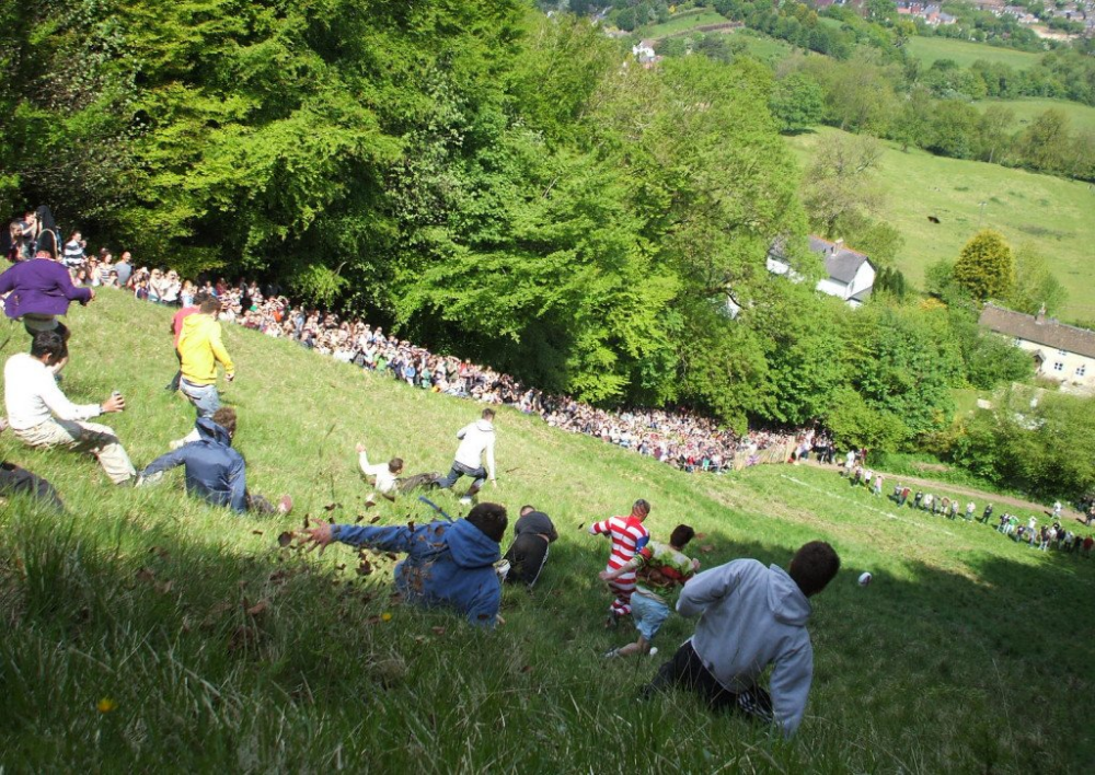 Ten Weird & Whacky British Sports in 2020 Cheese rolling