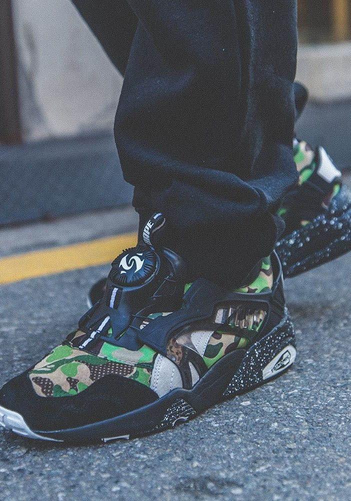 Bape Puma × Disc Chaussure WheyPinterest Camo Blaze Clothing CxrWBedo