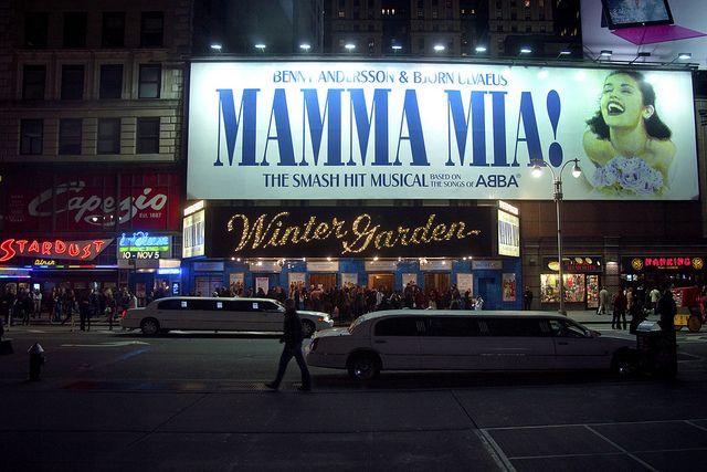 Winter Garden Broadway Musicals Mamma Mia