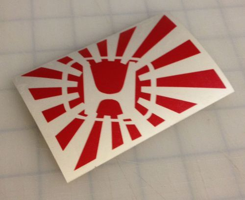 Honda rising sun sticker decal vinyl car illest jdm drift japan flag domo euro http