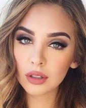 46 elegantes ideas de maquillaje de boda natural para probar en 2019 Fantásticas 46 elegantes …