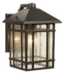 Outdoor Craftsman Style Lights With