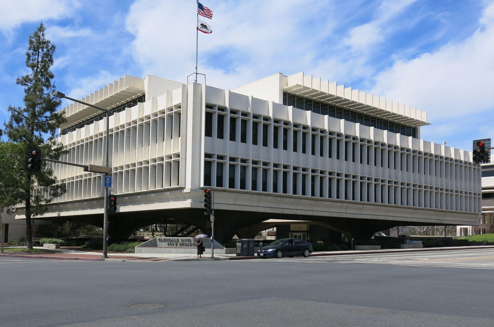 Glendale Municipal Services Building Glendale Ca Glendale Building Architect