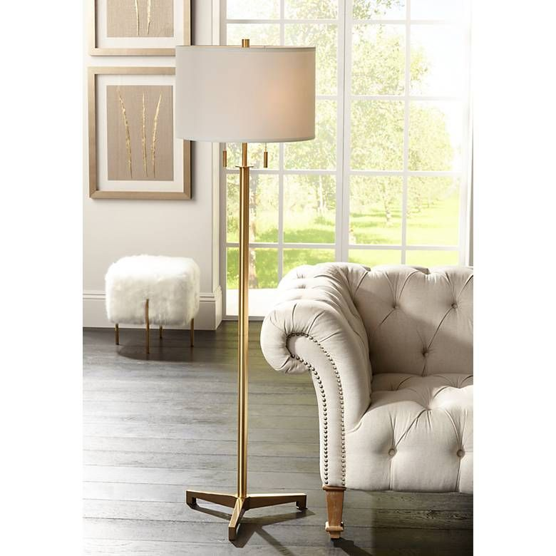 Feel Inspired By These Brass Floor Lamps Find More Https
