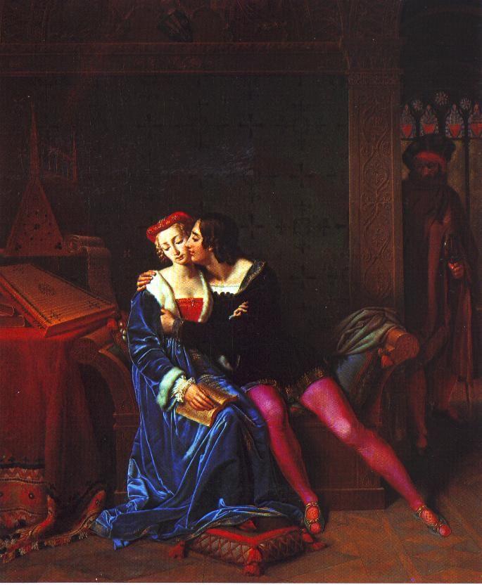 Paolo et Francesca - arts visuels répertoire - Le Cask and Barrel
