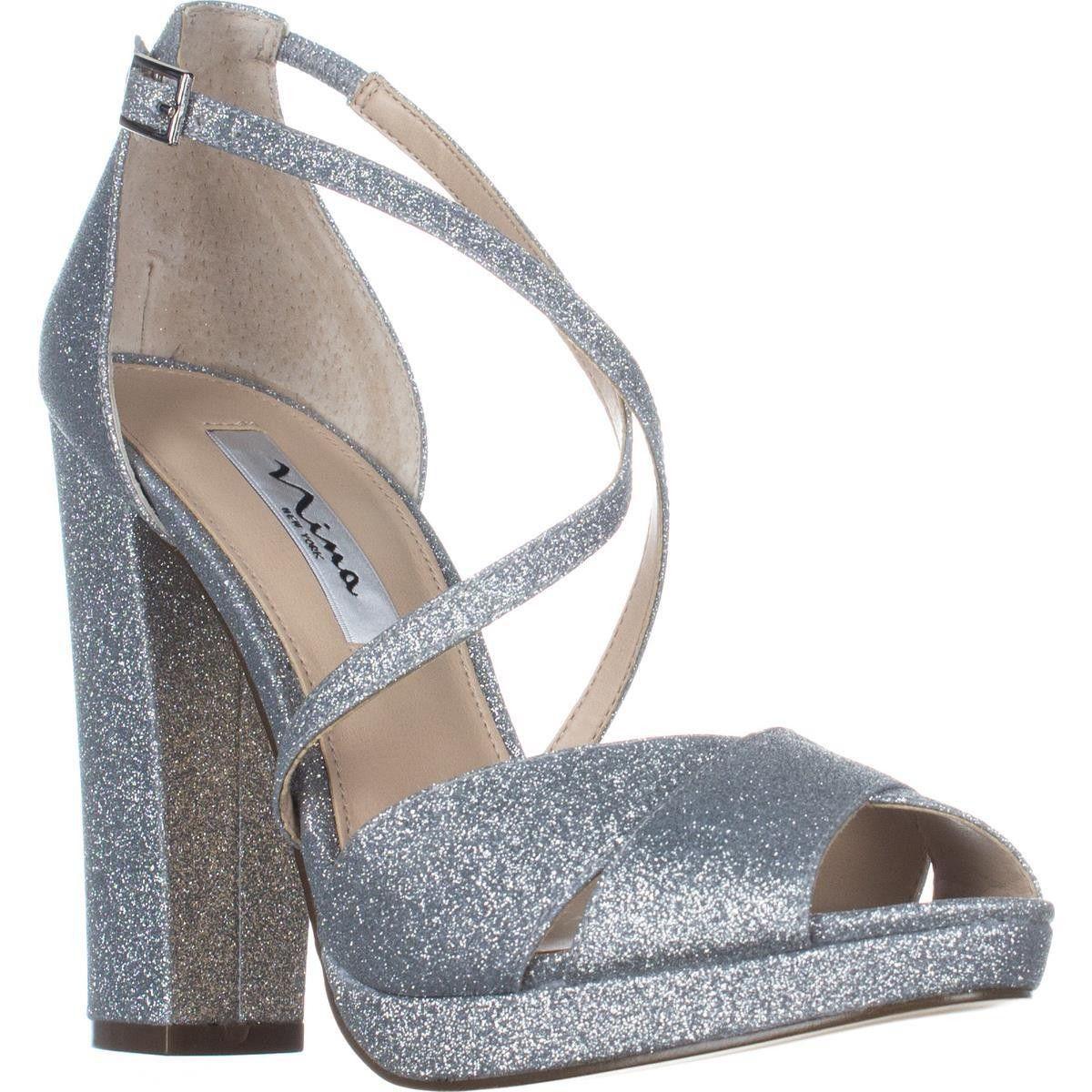 3559a11324f7 Nina Marylyn Peep Toe Dress Sandals