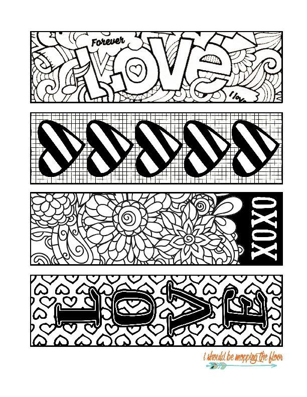 Você vai querer fazer todos estes marcadores de página para imprimir ...