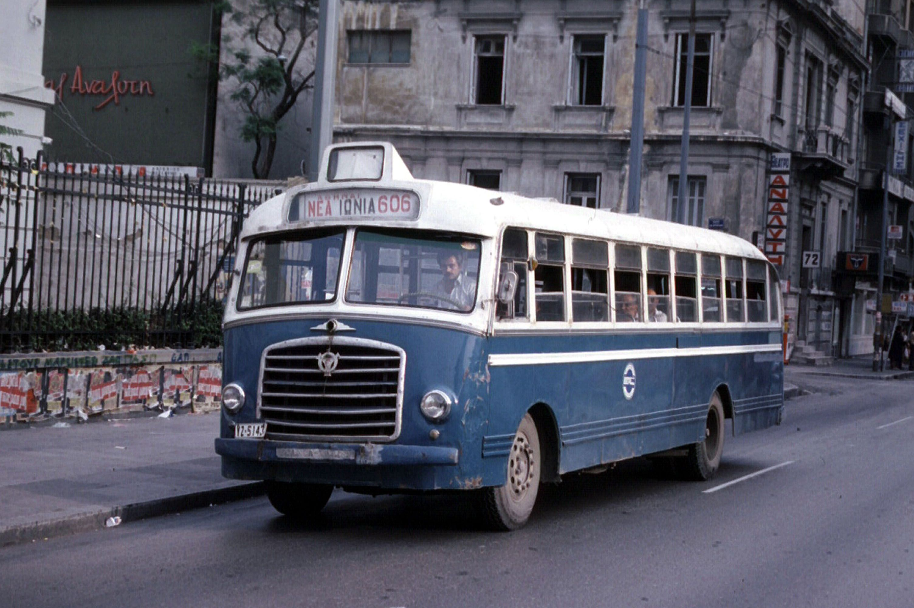 Greek old urban bus old buses and pullmans pinterest mercedes benz busses and cars
