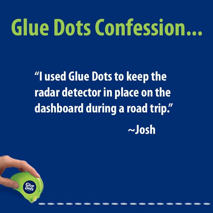 Hardware repositionable adhesive glue dots diy projects
