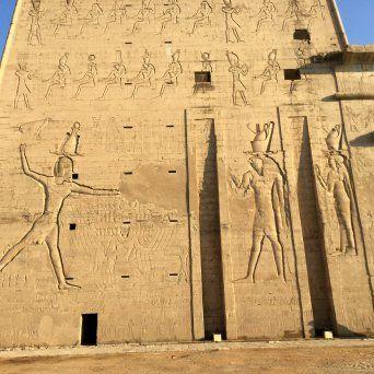 el Templo de Horus de Edfu2