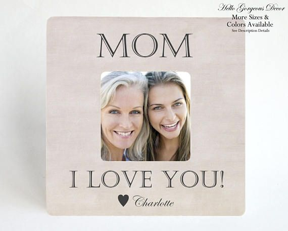 Mother\'s Day Gift to Mom from Daughter / Son PICTURE FRAME ...