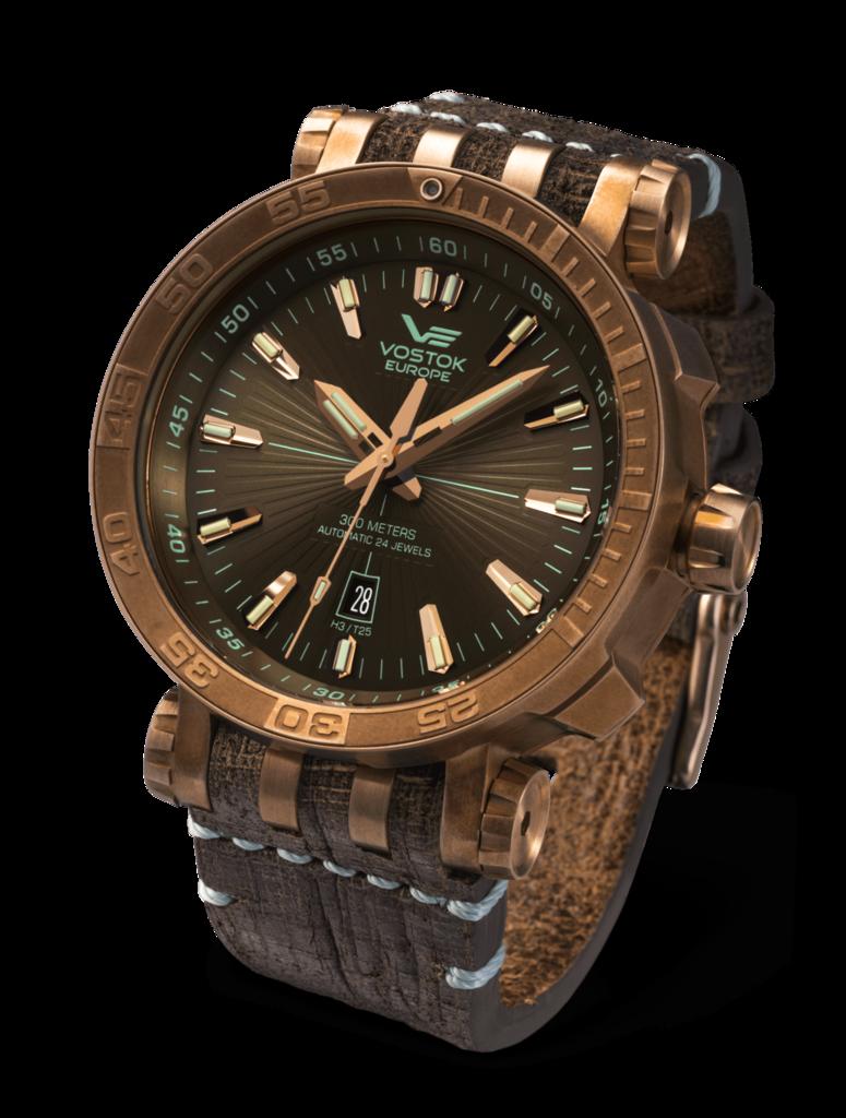Vostok Europe Energia 2 Bronze Bronze Brown Watch Nh35a 575o285