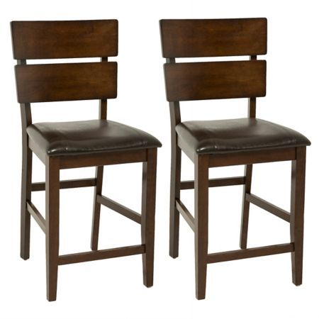 Crown Mark Tarrant Counter Height Dining Chairs Dining Chairs