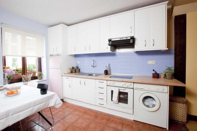 cocina sin azulejos
