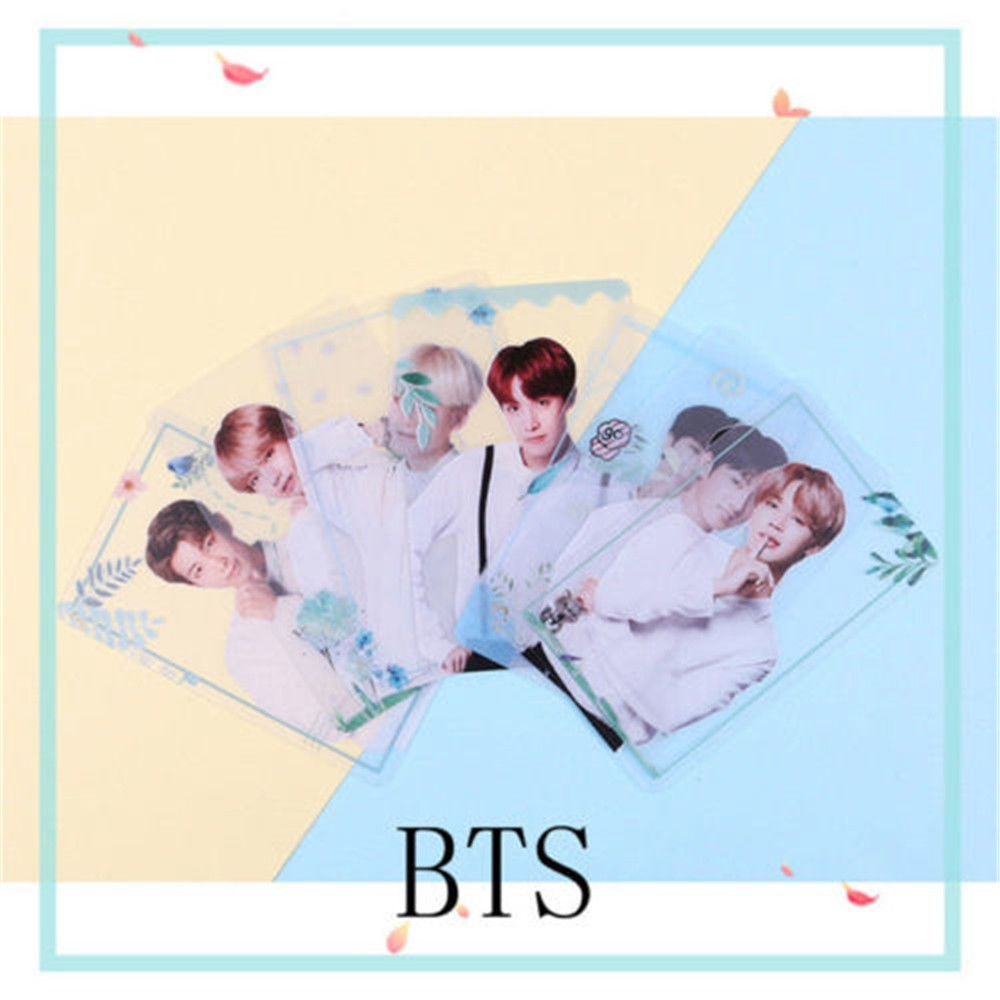 BTS Jimin Transparent Cards