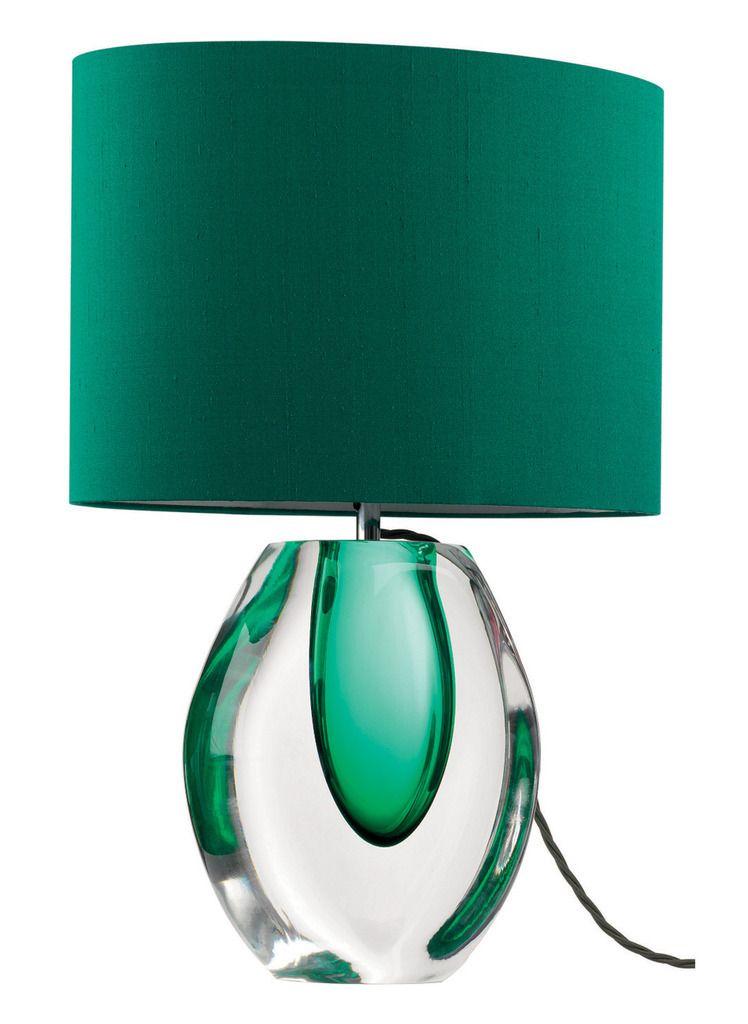 Art Glass Perfume Bottle Table Lamp