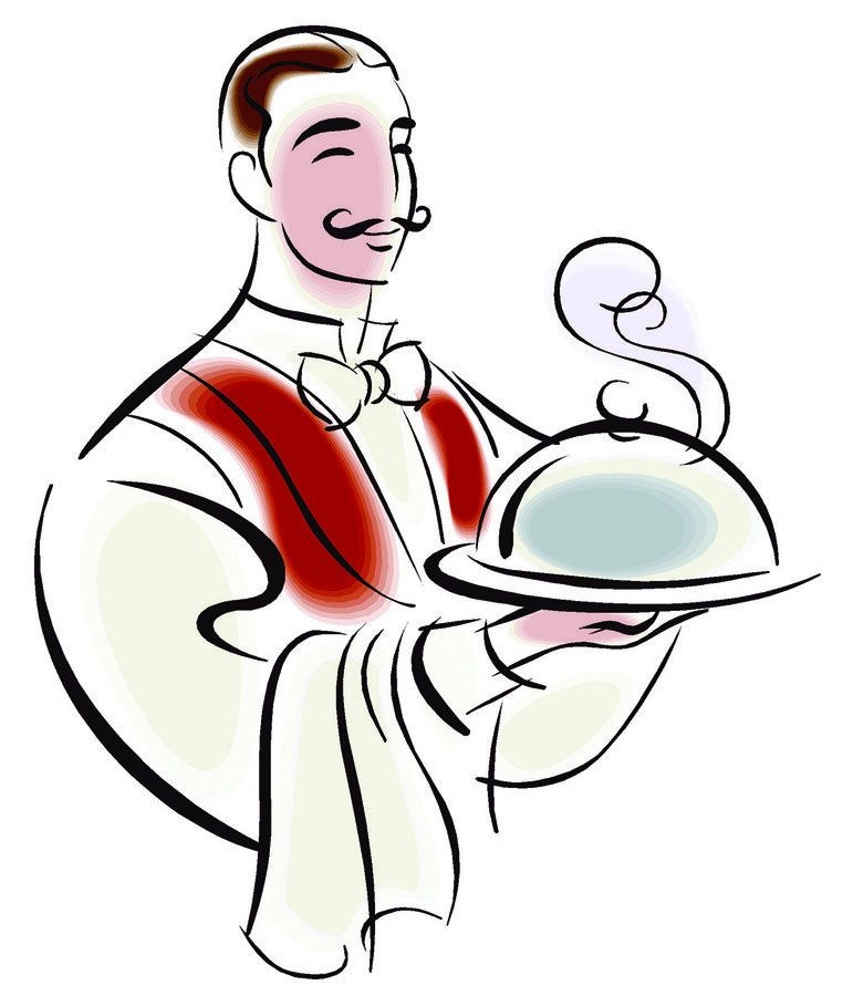 waiter clipart google search cliparts pinterest rh pinterest com water clip art water clip art for kids