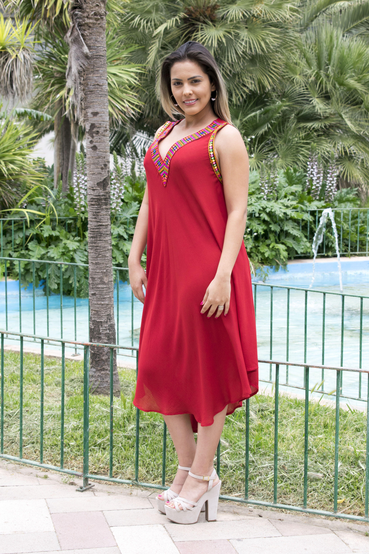 3338da3b68f2 Ideal Vestido de Playa - Hippie Alternativo - Vestidos Etnicos ...