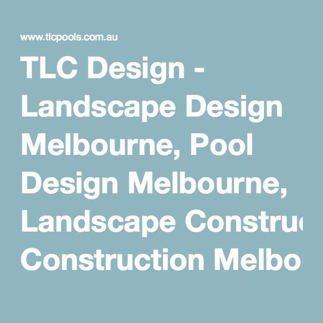 TLC Design - Landscape Design Melbourne, Pool Design Melbourne, Landscape Construction Melbourne and Pool Construction Melbourne - Plenty Project