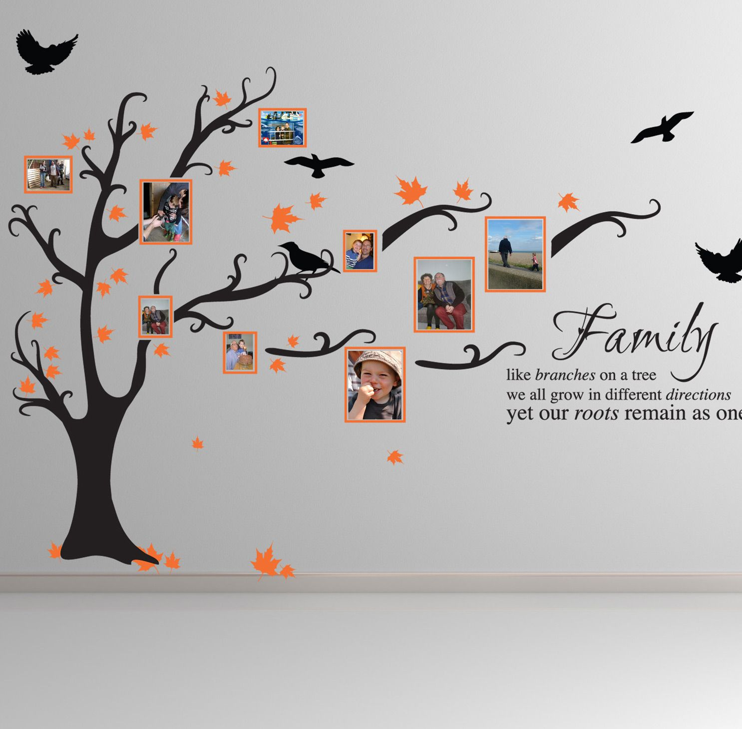 Family tree bird art wall stickers quotes decals ft1 wall family tree bird art wall stickers quotes decals ft1 amipublicfo Image collections