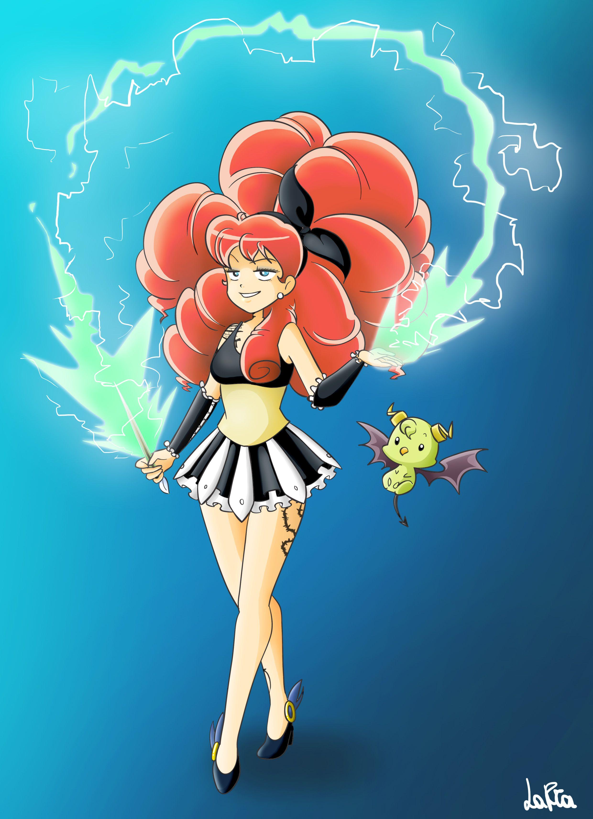 """Fan art di Melie, personaggio del manga """"Radiant"""" di Tony"""