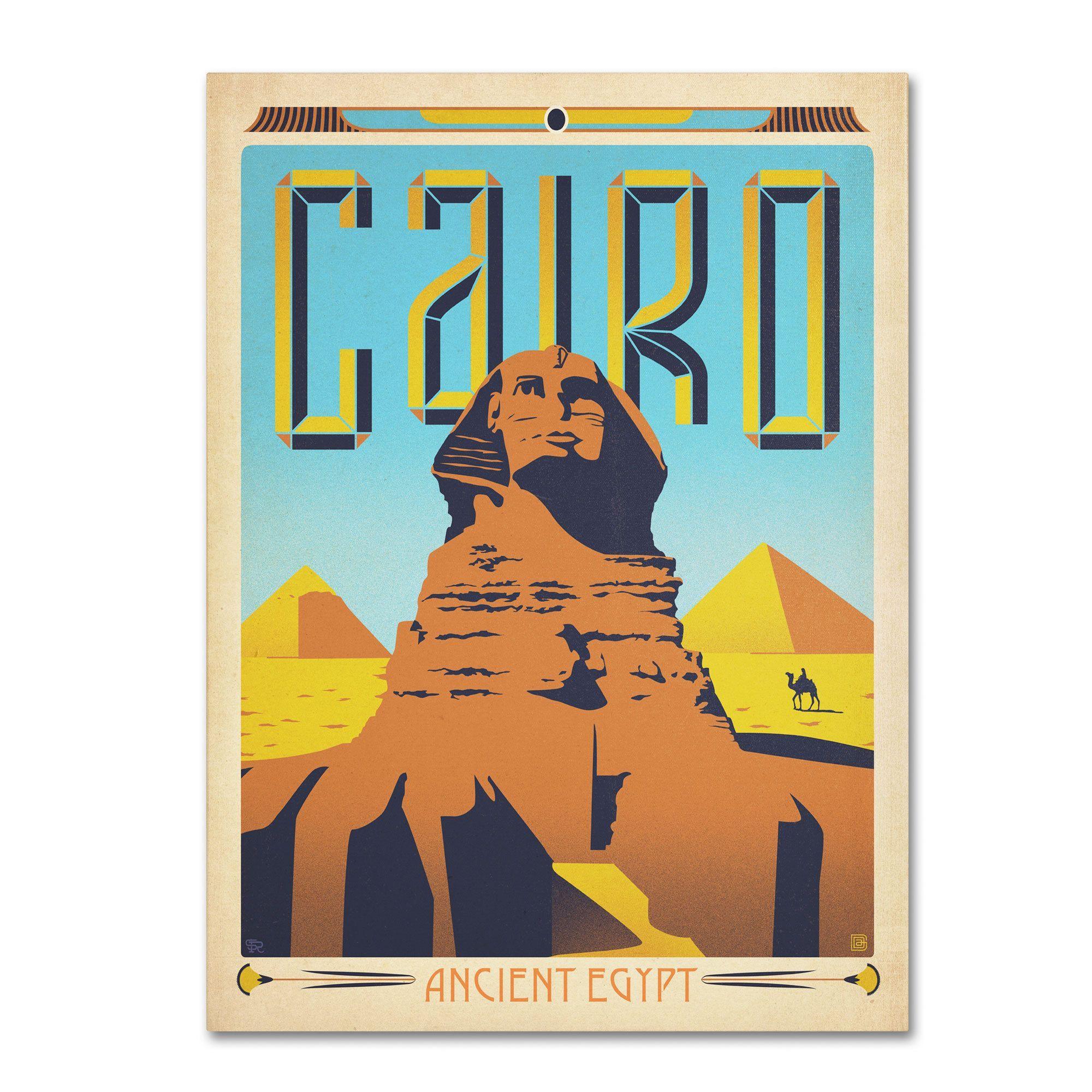 Anderson Design Group 'Cairo, Egypt' Art