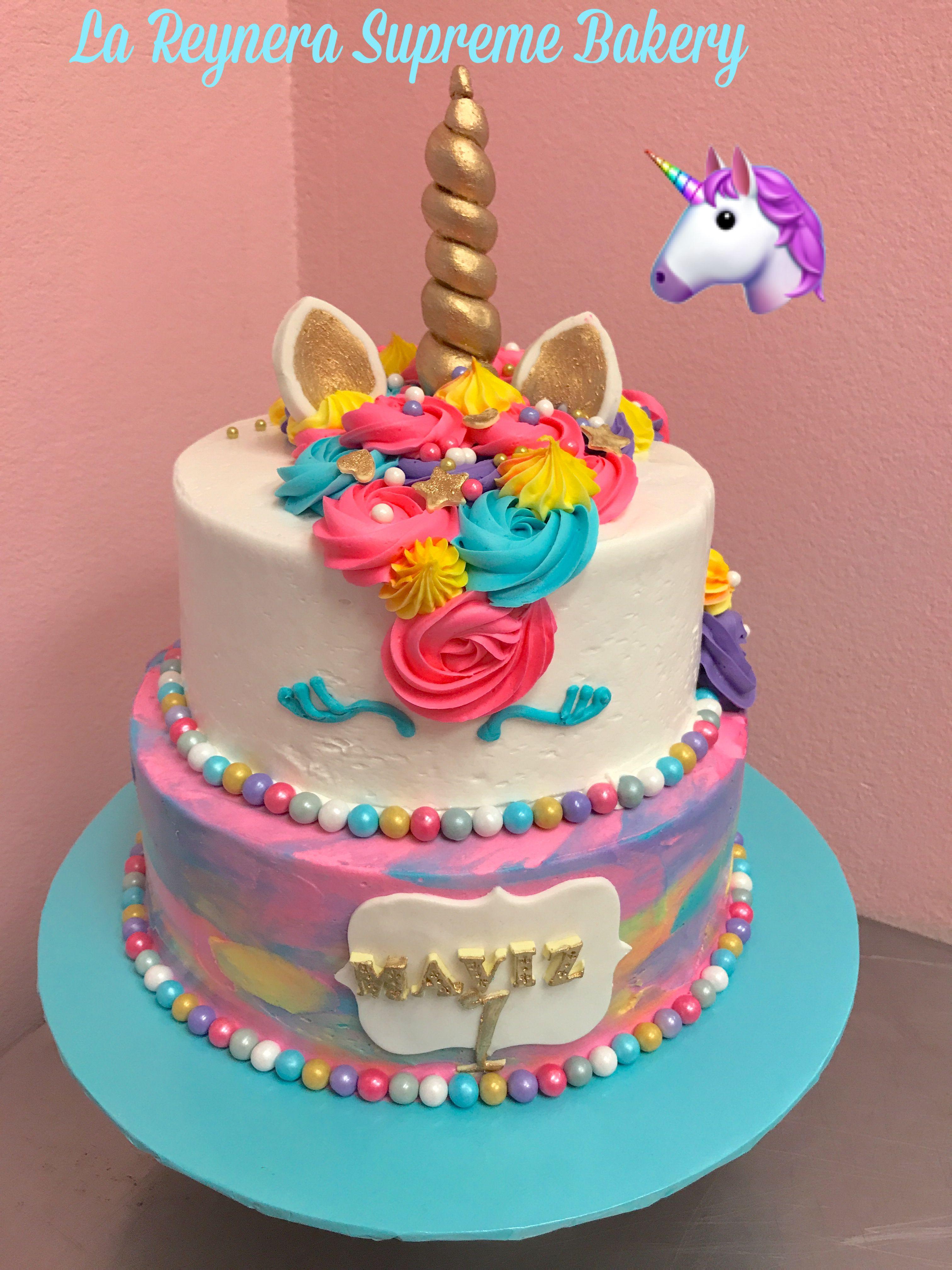 Rainbow Unicorn Cake With Images Rainbow Unicorn Cake Cake