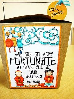 teacher gift: we are so very fortunate to have you as our teacher
