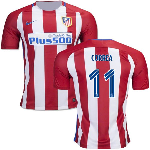 fashion  collectibles New CORREA  11 Atletico Madrid 16 17 Home Soccer  Jersey 97cb67a851a62