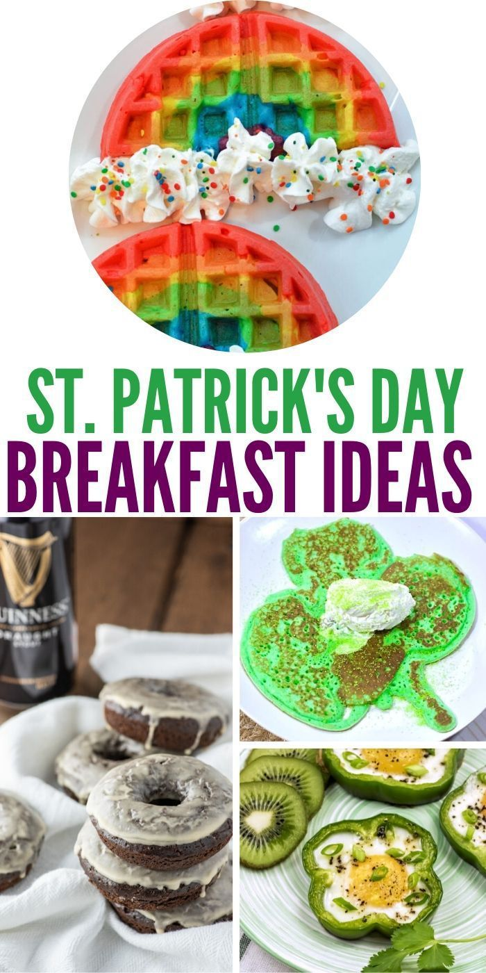 Easy St. Patrick's Day Breakfast Ideas - Unique Gifter