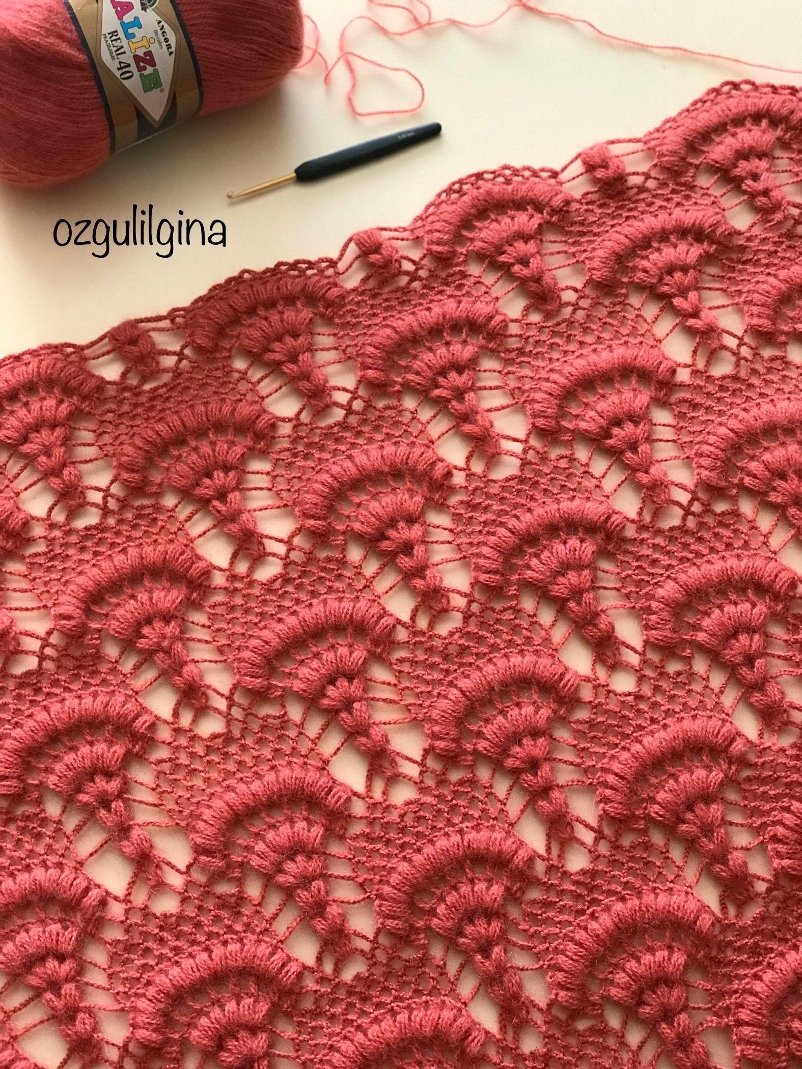 Ozgulilgina Adli Kullanicinin Sal Modelleri Panosundaki Pin Orgu Desenleri Desenler Baby Knitting Patterns