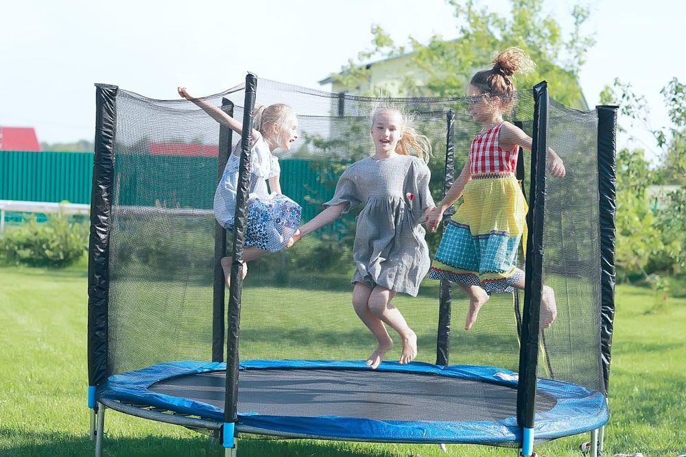 Acon Air 16 Sport Trampoline With Enclosure And Ladder Best Trampoline Trampoline Kids Trampoline