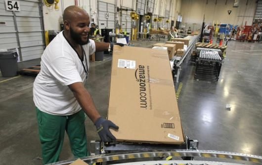 For The First Time Ever The World S Largest Internet Retailer Will Now Be Delivering Orde Amazon Same Day Delivery Same Day Delivery Service Us Postal Service