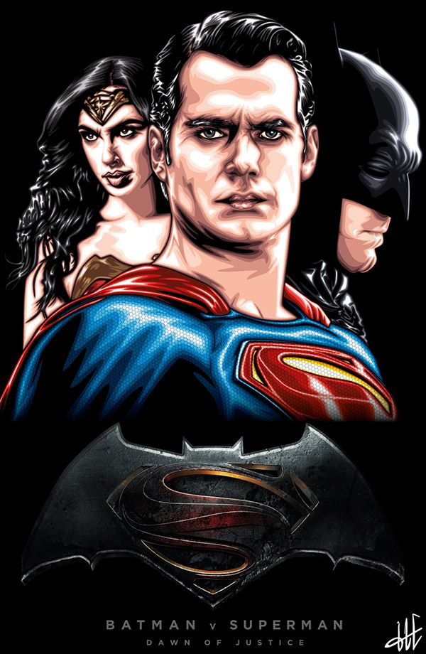 Batman v Superman by  Harun Elibol