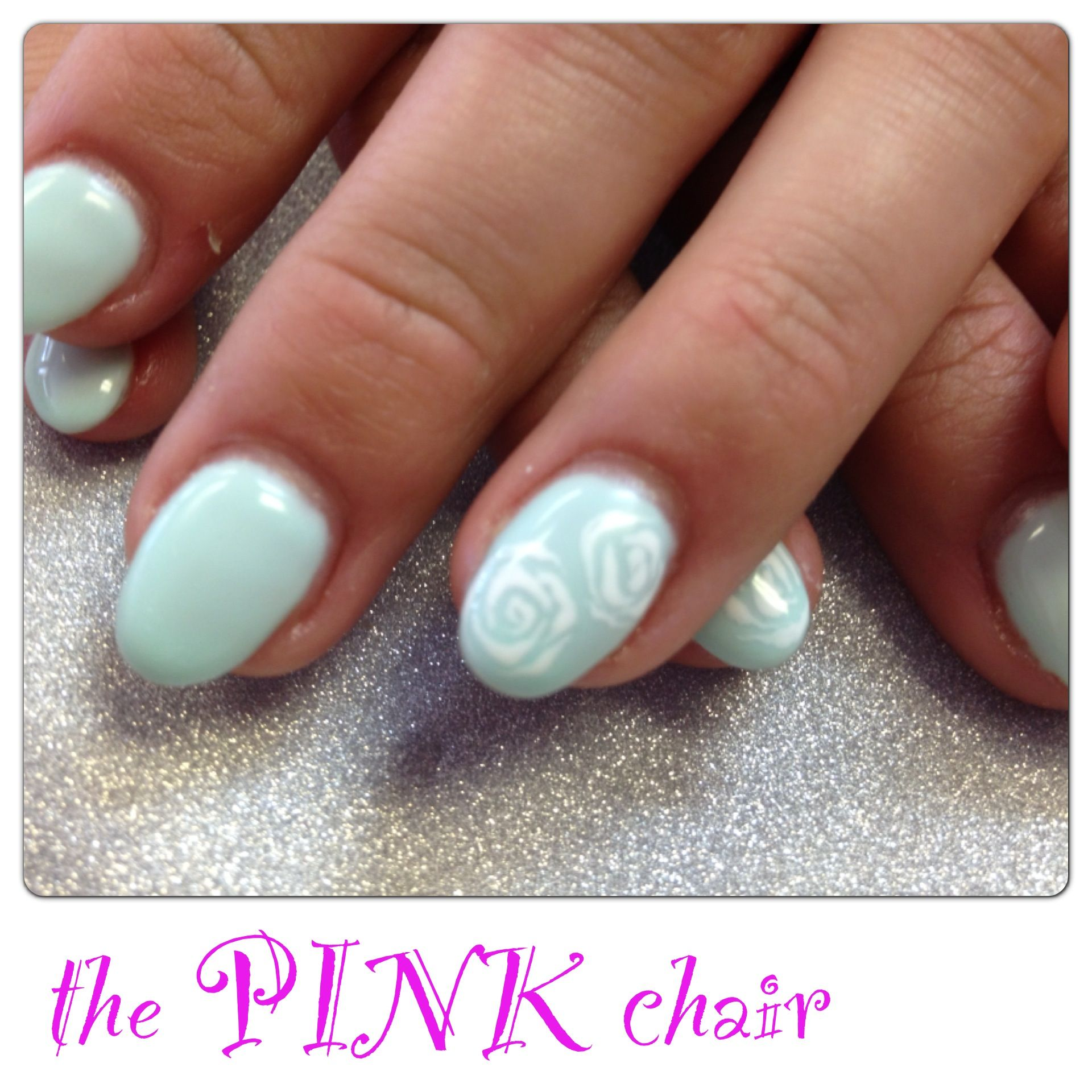 Morning Swim Colouredgel gel by Light Elegance. Hand painted roses ...