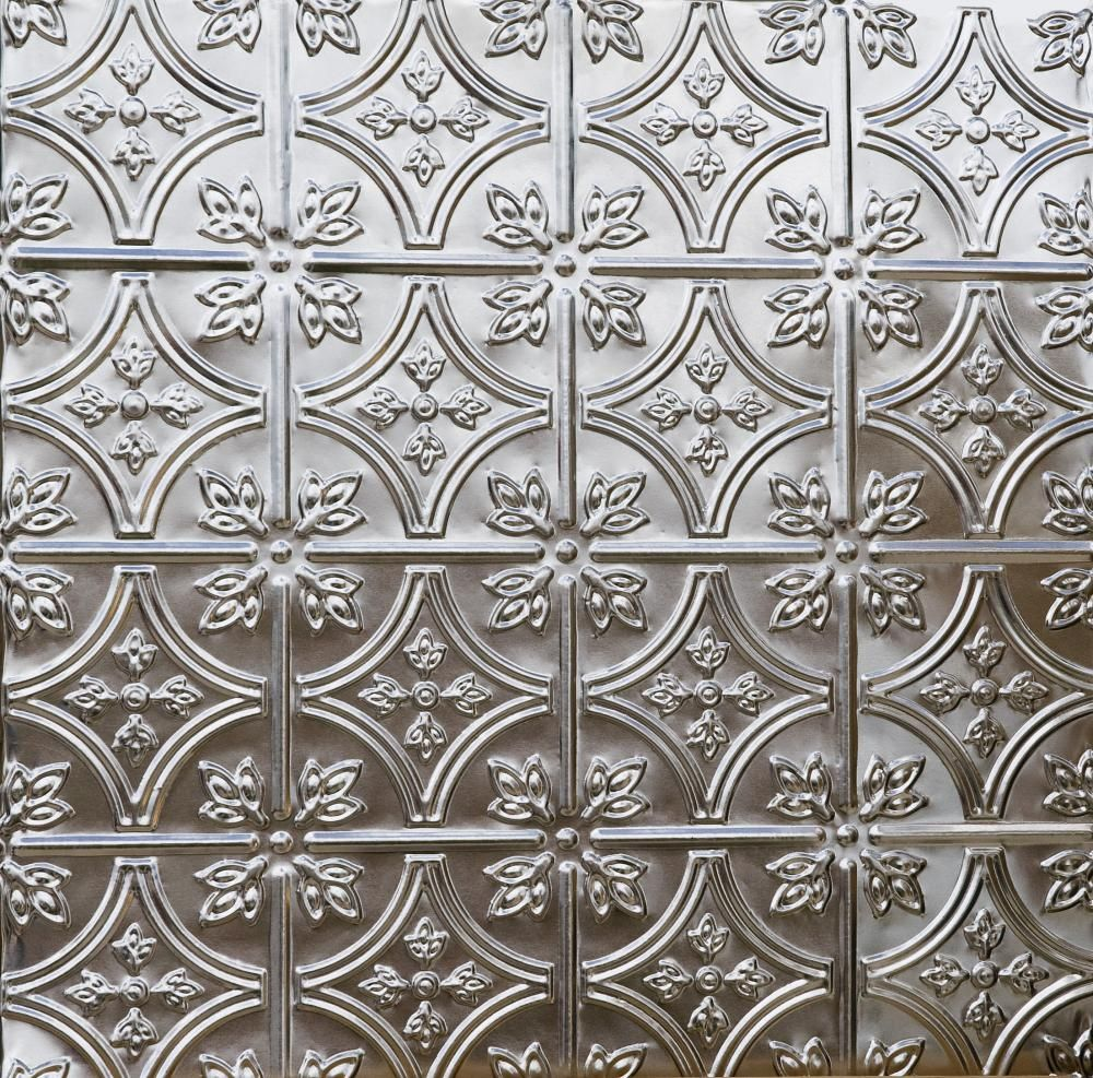 Decorative Tin Backsplash Tiles Beautiful Tin Ceiling Or Wall Tile  Decals Are Hassle Freecut
