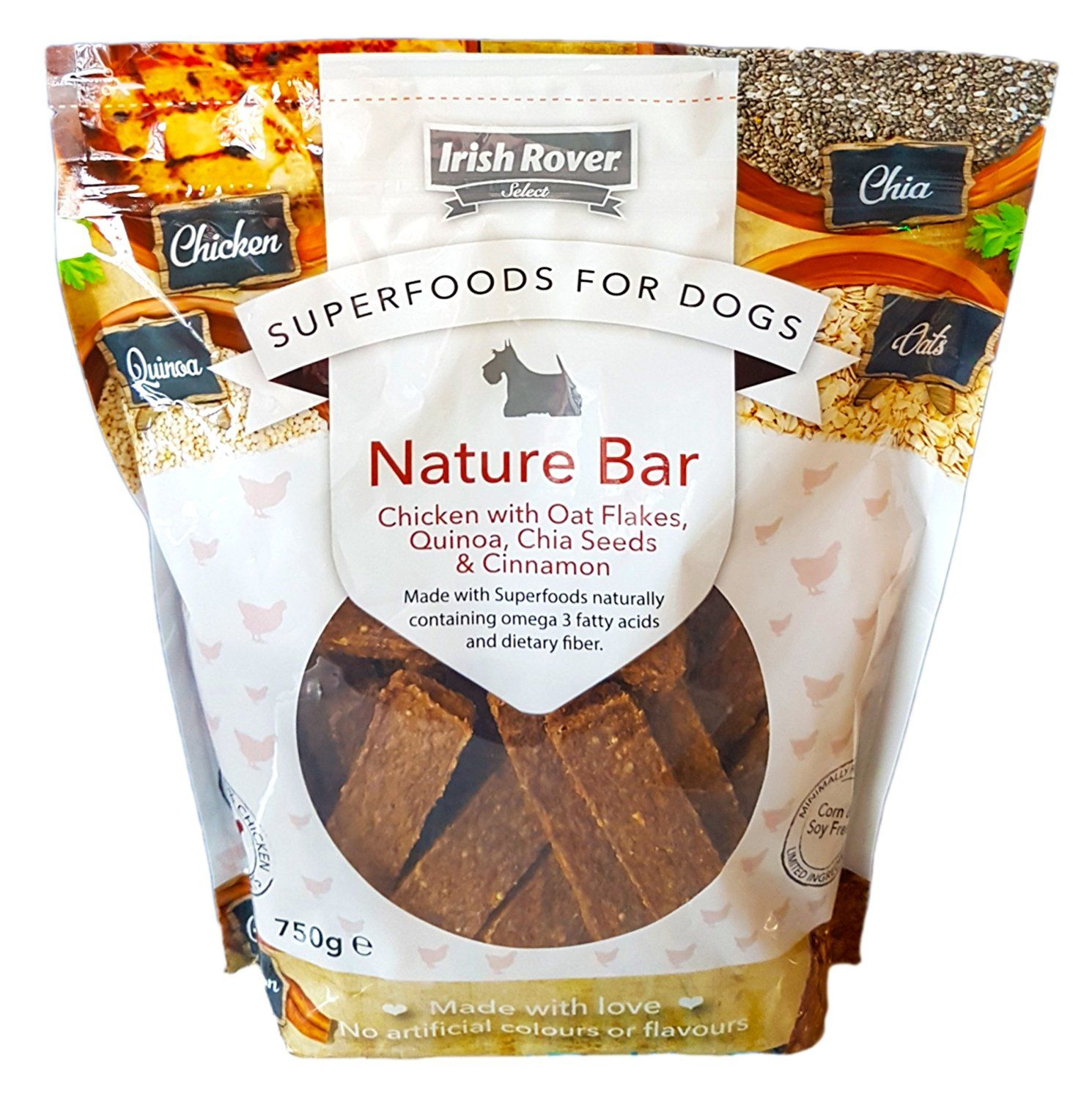 Irish Rover Superfoods For Dogs Chicken Meat Dog Treats