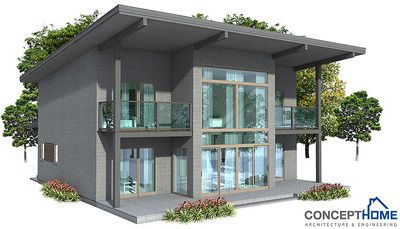 Concept Home Architecture And Engineering Site With